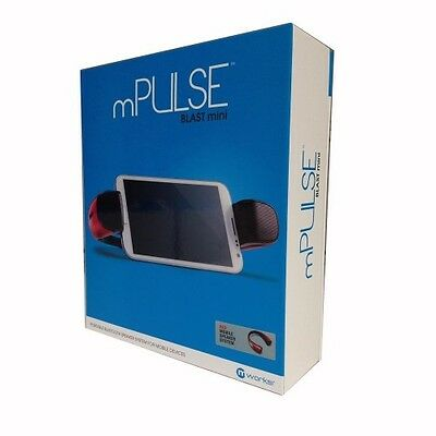 mPULSE Blast Mini Bluetooth Stereo Speaker -Red-