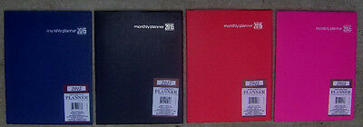 2015 DELUXE MONTHLY Calendar PLANNER~Organizer~Desk~Appointment Book~NEW