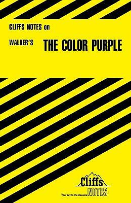 The Color Purple by Gloria Rose (English) Paperback Book Free Shipping!