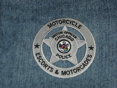 Chicago Police Dept Motorcycle Patch