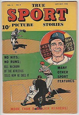 TRUE SPORT PICTURE STORIES v4#9,PHILADELPHIA A's,SOLID BOOK!