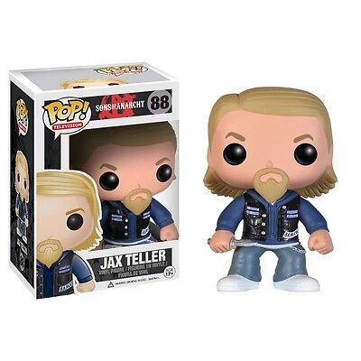 FUNKO POP! TELEVISION: SONS OF ANARCHY JAX TELLER ACTION FIGURE, New