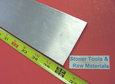"1/4"" X 3"" ALUMINUM FLAT BAR 36"" long 6061 T6511 .250"" Plate Mill Stock"