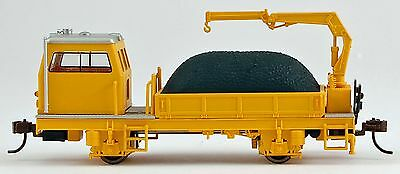 Bachmann HO Scale Train Maintenance of Way DCC Equipped Ballast Vehicle 87902