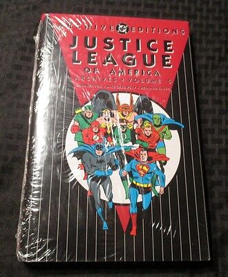 Justice League of America Archives v.5 HC Sealed FOX Sekowski SACHS
