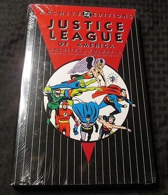 Justice League of America Archives v.6 HC Sealed FOX Sekowski GREENE