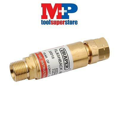 Draper 35018 In-Line Fuel Flashback Arrestor