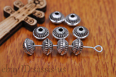 20pcs 5mm Charm spacer bead Diy Jewelry Making For Bracelet Tibet Silver 7188