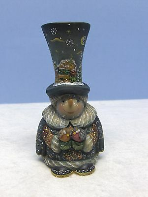 "G. Debrekht  Frosty Caroler, 5 1/2"", NIB, Ltd Ed 172/900"
