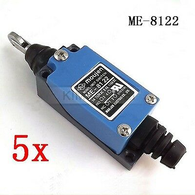 5x Roller Plunger Position Control Automatic Reset Micro Limit Switch ME-8122