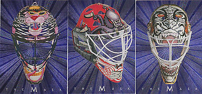 01-02 BAP Mike Dunham The Mask Between The Pipes 2001 Be A Player