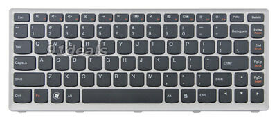 Original New For Lenovo IdeaPad U410 US Black Keyboard