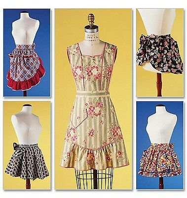 Sew & Make Butterick 6567 Vintage SEWING PATTERN - Womens Vintage Style APRONS