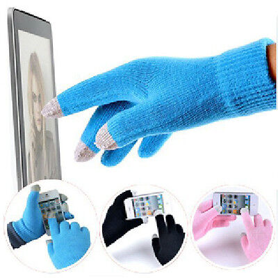 Winter Unisex Touch Screen Stretchy Soft Warm Gloves for Mobile Phone Tablet Pad