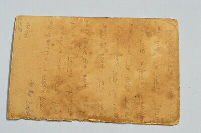 Nice Old Rajasthan Miniature Painted Indian Postcard Of Peacocks No 62