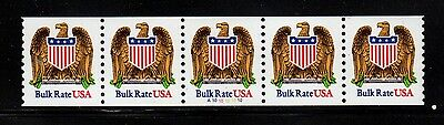 #2602 Eagle & Shield PNC5  Pl #A1010101010 - MNH