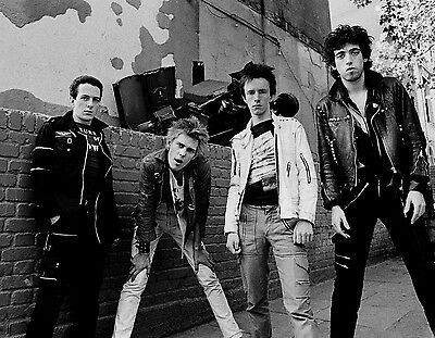 The Clash - 8x10 B&W Photo