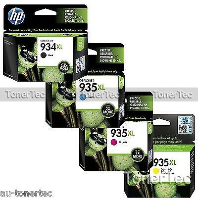 HP Genuine 934XL-BK+935XL C/M/Y High Yield x4 Ink Set-> Officejet PRO 6230/6830