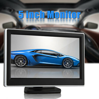 New 5 Inch 2 Video Input TFT-LCD Digital Panel Color Car Rear View Monitor