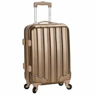 Rockland Luggage Melbourne Series Carry-On Upright - Bronze