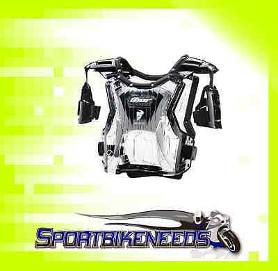 Thor Quadrant Black Clear Roost Chest Protector New