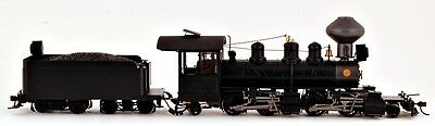 Bachmann On30 Scale Train 2-4-4-2 DCC Equipped Black Wood Cab 29003