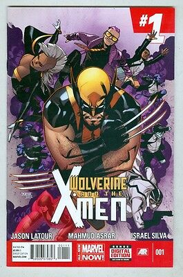 Wolverine and the X-Men #1 May 2014 VF/NM 1st print