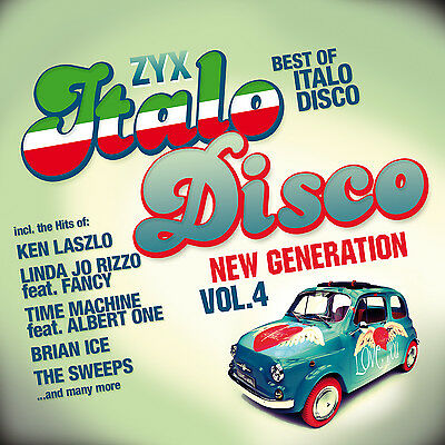 CD ZYX ITALO DISCO NEW GENERATION 4 by Various Artists 2CDs