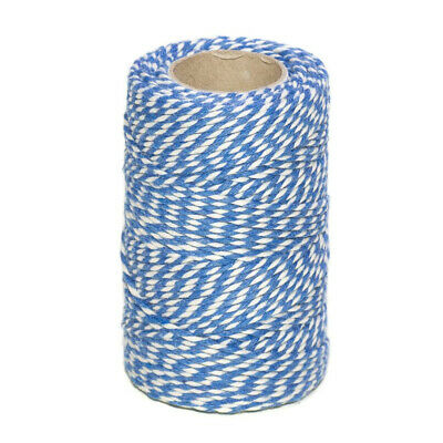 BEAUTIFUL BAKERS TWINE OXFORD BLUE 2mm 2 PLY - STRING PAPER CORD EVERLASTO