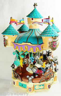 Enesco Carousel Disney Sir Mickey to the Rescue light  box Once Upon a Dream