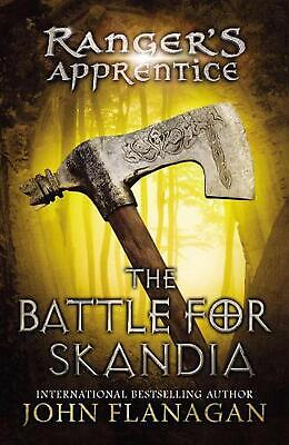 The Battle for Skandia by John Flanagan (English) Hardcover Book Free Shipping!