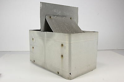 Architectural Salvage Roof Vent Galvanized Tin Industrial Style Primitive Rustic