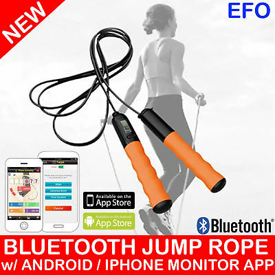 Bluetooth Jump Rope Skipping Rope Calorie Count Fat Burned Android Ios App Bt007