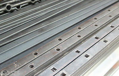 Punched 30 x 8 Mild Steel Flat Bar 2 Mtr Lengths Round & Square 12 mm  Hole