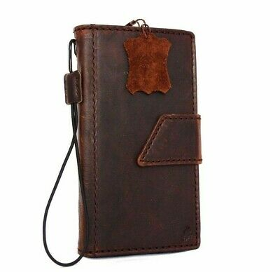 genuine leather Case for apple iphone 6 6s book wallet handmade slim cover Davis