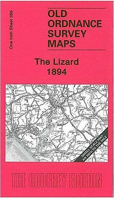 Old Ordnance Survey Map The Lizard 1894