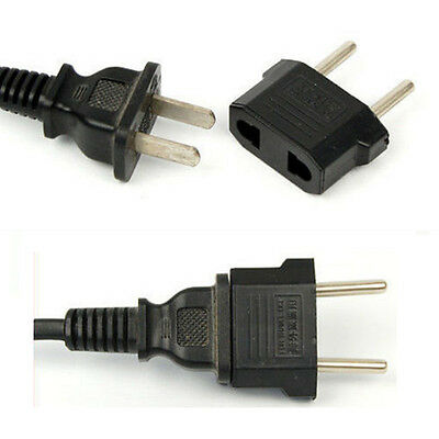 3Pcs US/USA CA  AUS to European EU Travel Charger Adapter Plug Outlet Converter