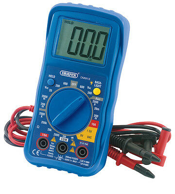 Draper 78993 Digital Multimeter Electrical Electronics Tester Testing Tool AC/DC