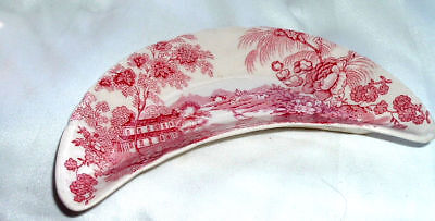 Vintage Clarice Cliff Tonquin Royal Staffordshire Bone Dish