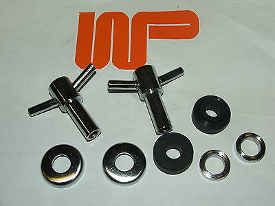Classic Mini - Pair Of Rocker Cover 't' Bars Including Fittings - Wpa9039X