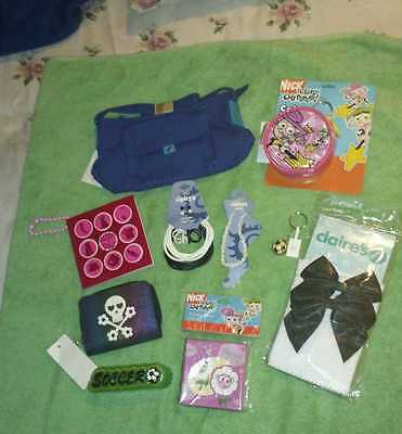 Claire's~Girls~Accessories~Purse~10 Items Lot #5~New~(worth $58)