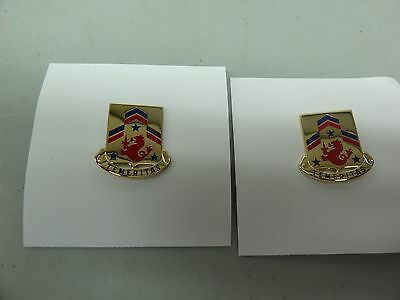 Insignia Set Of 2 Details about  /US Army 82nd Field Artillery DUI Unit Crest New DI