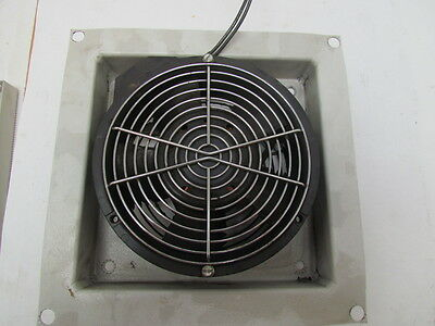 "Hoffman 6AXFN 6"" Cooling Fan For Electrical Enclosure 200/240 CFM 115VAC"