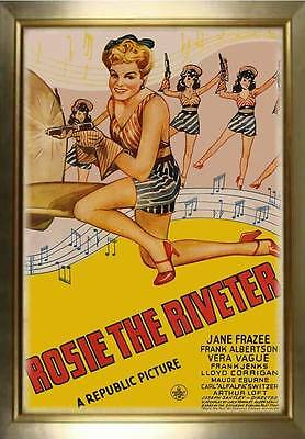 MAGNET Movie Poster Photo Magnet ROSIE THE RIVETER 1944 Musical