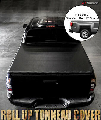 "2009-2016 Dodge Ram 1500/2500/3500 6.5 Ft 76"" Bed Lock & Roll Soft Tonneau Cover"