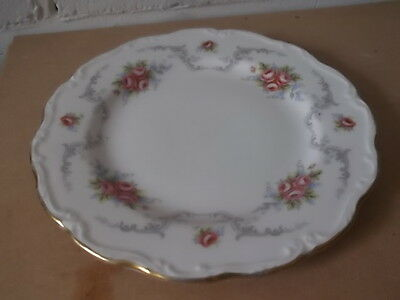 ROYAL ALBERT SALAD PLATE  IN TRANQUILLITY PATTERN