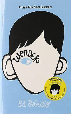 Wonder by R. J. Palacio, 2012 Hardcover, New, Free Shipping