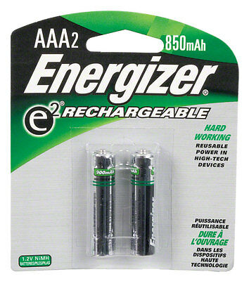 Energizer Rechargeable AAA 700mAh Battery: 2-Pack