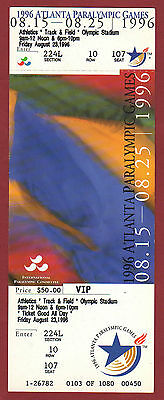 Orig.Ticket   Paralympic Games ATLANTA 1996 - 23.08. / ATHLETICS - 19 Final`s !