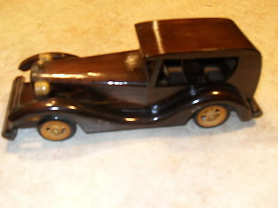 "Heritage Mint LTD Wood Wooden Vintage Car Collectible 10"" Long!"